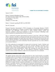 letter - Financial Executives International
