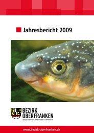 Jahresbericht 2009 - Bezirk Oberfranken