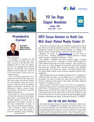October 2010 Newsletter - Financial Executives International
