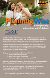 Planning Wise Postcard - Society of Financial Service Professionals