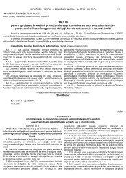 Procedura pentru somatii si titluri executorii - Financiarul