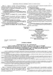 Citeste integral actul normativ - Financiarul