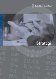 Strategi 2002-2006 - Finanstilsynet