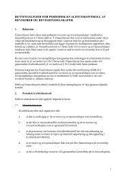 retningslinjer for periodisk kvalitetskontroll av ... - Finanstilsynet