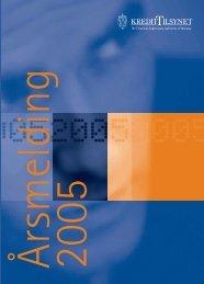 Årsmelding 2005 - Finanstilsynet