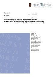 Rundskriv 8/2009 - Finanstilsynet
