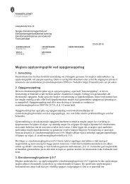 Meglers opplysningsplikt ved oppgjørsoppdrag - Finanstilsynet