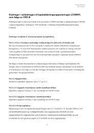 Endringer i veiledningen til ... - Finanstilsynet