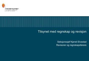 Foredraget - Finanstilsynet