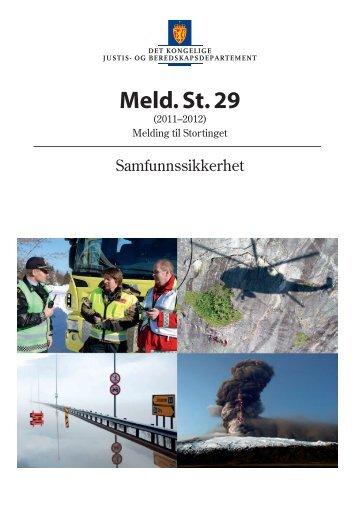 Meld. St. 29 (2011–2012) - Finanstilsynet