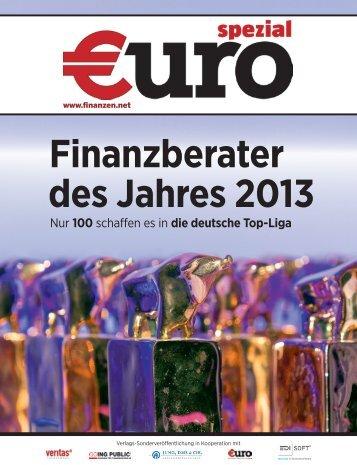 Finanzberater des Jahres 2013 - Borstar Finanzplanung