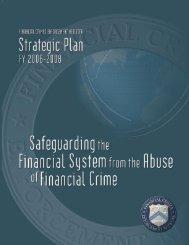 Strategic Plan 2006-2008 - FinCEN