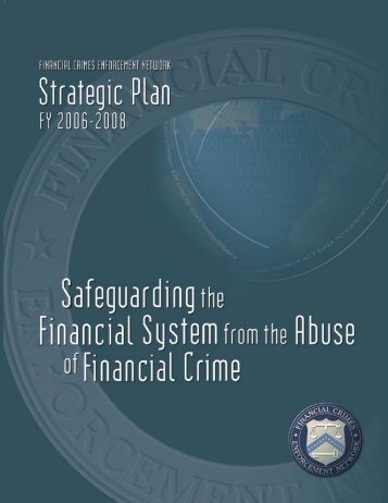 Strategic Plan 2006-2008 - FinCEN