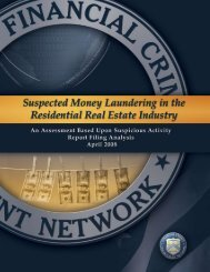 Suspected Money Laundering in the Residential Real Estate - FinCEN