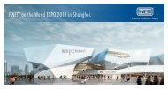 FINETT on the World EXPO 2010 in Shanghai. - Findeisen GmbH
