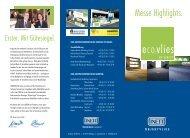 Messe Highlights. - Findeisen GmbH