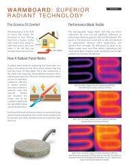 warmboard: superior radiant technology - Fine Homebuilding