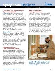 Spray Foam Tip Sheet - Fine Homebuilding