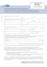 Beitrittserklärung - Finest Brokers GmbH