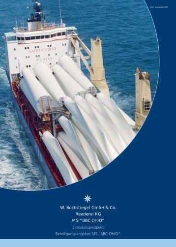 "W. Bockstiegel GmbH & Co. Reederei KG MS ""BBC OHIO"""