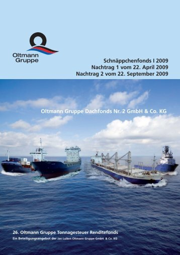 Schnäppchenfonds I 2009 Nachtrag 1 Vom 22. April 2009 Nachtrag ...