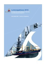 Reederei Briese Leistungsbilanz 2010 - Schiffsbeteiligungen ...