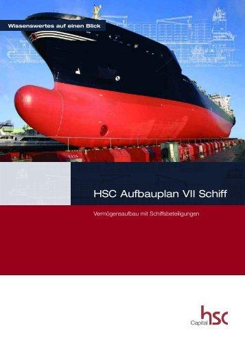 HSC Aufbauplan VII Schiff - Finest Brokers GmbH