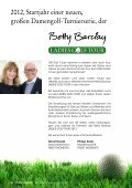 das journal zur betty barclay ladies golf tour 2012 - Finest Family - Seite 2
