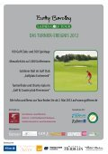 das journal zur betty barclay ladies golf tour 2012 - Finest Family - Seite 5