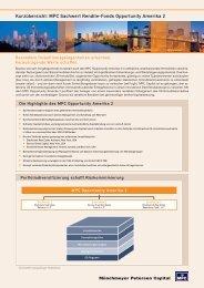 MPC Sachwert Rendite-Fonds Opportunity ... - BIT Treuhand AG