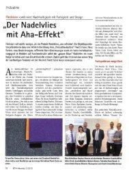 """""""Der Nadelvlies - Findeisen GmbH"""