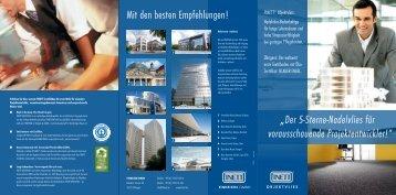 Der 5-Sterne-Nadelvlies für vorausschauende ... - Findeisen GmbH