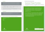Summer Projects - Application Form. - pdf - Fingal County Council