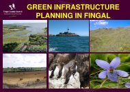 green infrastructure planning in fingal - Fingal County Council