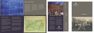 Fingal Archives New Brochure - pdf - 282kbs - Fingal County Council