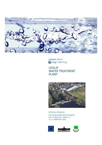 LEIXLIP WATER TREATMENT PLANT - Fingal County Council