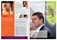Download Fingal News Summer 2009 - pdf - Fingal County Council