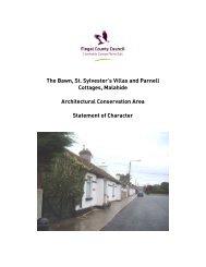 Malahide The Bawn, St. Sylvesters Villas & Parnell Cottages ACA ...