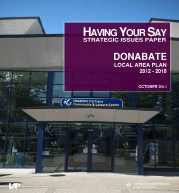 Proposed Donabate LAP - Issues Paper - Fingal County Council