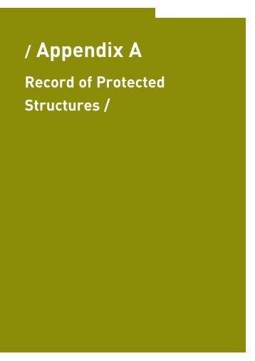 Appendix A-Record of Protected Final.qxp - Fingal County Council