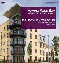 Baldoyle/Stapolin - Strategic Issues Paper - Fingal County Council