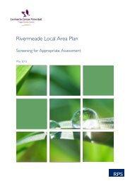 Draft Rivermeade LAP - Fingal County Council