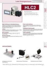 Datenblatt HLC1 - finger gmbh & co. kg