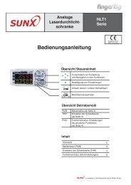 Bedienungsanleitung - finger gmbh & co. kg