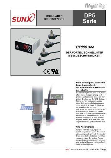 Datenblatt Drucksensor U4/5 - finger gmbh & co. kg