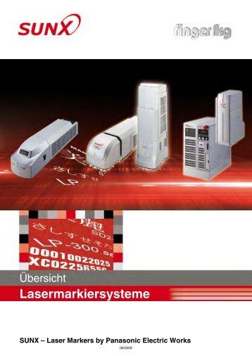 Übersicht Lasermarkierungssysteme - finger gmbh & co. kg
