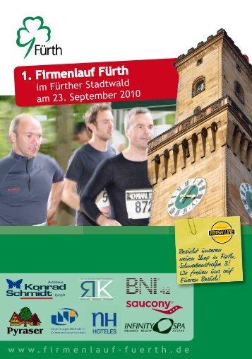 1. Firmenlauf Fürth - Finish Line