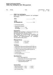 Ausschreibungstext Drehflügel 180°/2 flg - Finke Neue ZaunSysteme