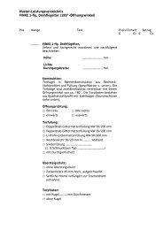 Ausschreibungstext Drehflügel 180°/1 flg - Finke Neue ZaunSysteme