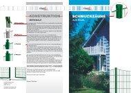 schmuckzäune - Finke Neue ZaunSysteme